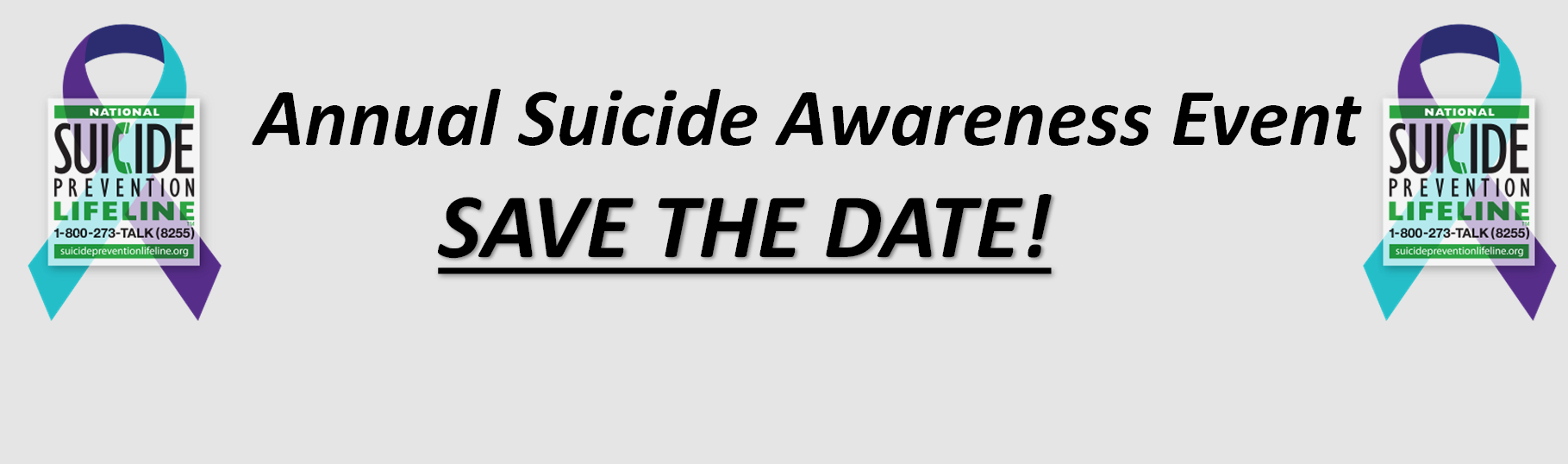 Annual Suicide Awareness Event