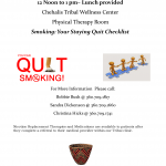 Tobacco Cessation Support Flyer