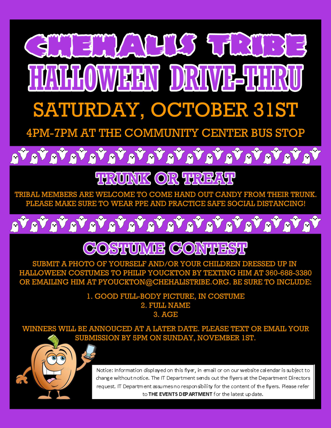 Halloween Drivethru October 2020