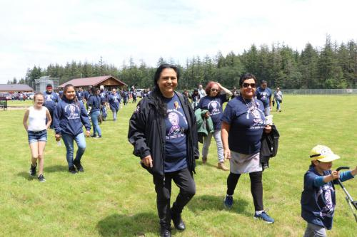 2019 Chehalis Tribal Days - Cancer Walk