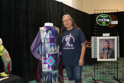 2019 Chehalis Tribal Days - Art Exhibit (Elaine McCloud)