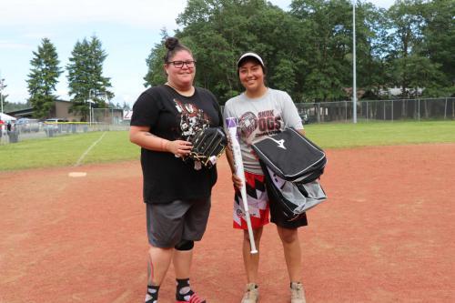 2019 Chehalis Tribal Days - Best bat in MVP for Co-ed tournament